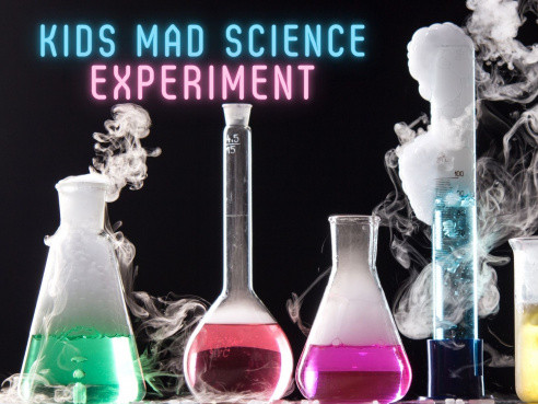 Kid's Mad Science Experiment