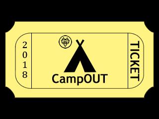 CampOUT 2018 Event tickets - La Fraternitié du Loup-Garou