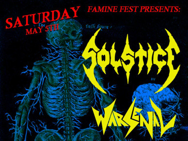 Solstice/Warsenal tickets - Twilight Cafe and Bar