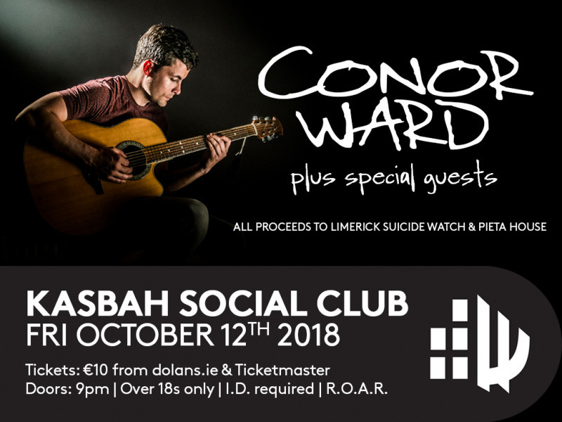 Conor Ward Event tickets - Dolans pub