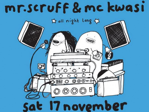 "Mr Scruff ""All Night Long"" Event tickets - Dolans pub"