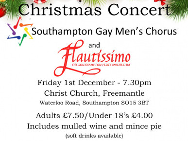 Christmas Concert Event tickets - Solent Gay Men's Chorus