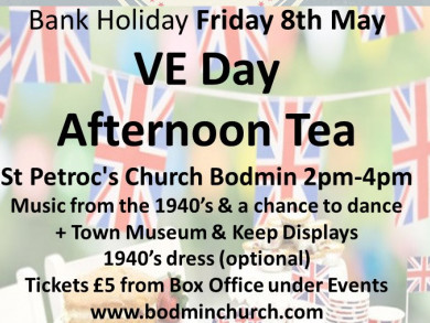 VE Day Afternoon Tea