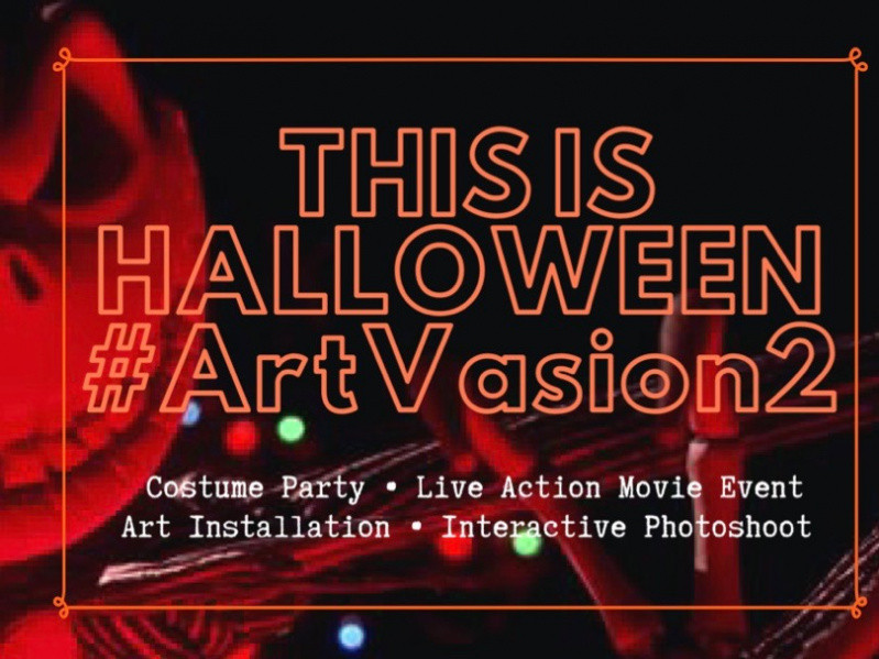 This is Halloween #Artvasion 2