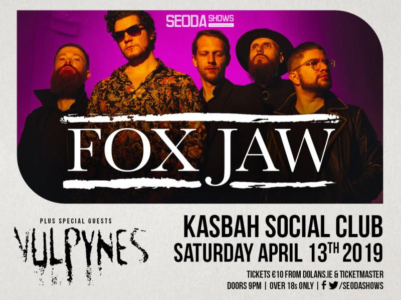 Fox Jaw/Vulpynes Event tickets - Dolans pub