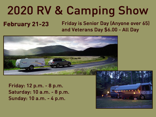 RV & Camping Show - 2020 tickets - QCCA Expo Center Event Tickets