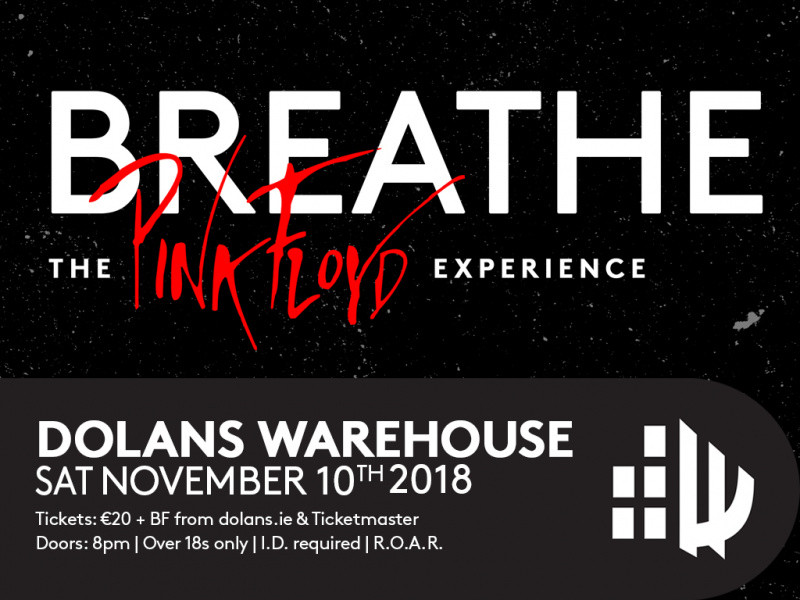 Breathe - The Pink Floyd Experience tickets - Dolans pub