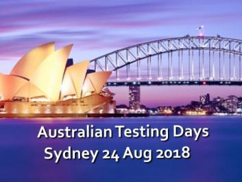Australian Testing Days Sydney 2018 tickets - Test Engineering Alliance
