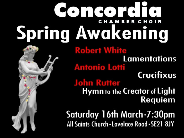 Spring Awakening Event tickets - Concordia