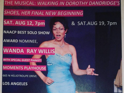 THE MUSICAL: DOROTHY DANDRIDGE Event tickets - Black Theater