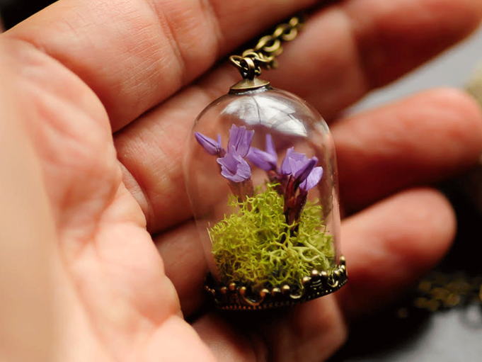 Terrarium Jewelry Workshop Event tickets - San Diego Made