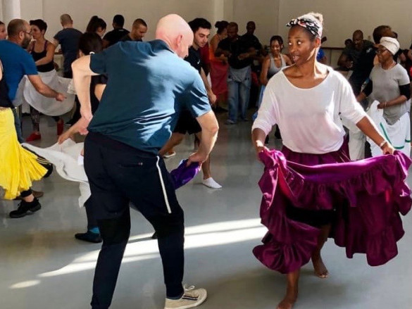 Rumba Guaguancó Style dance workshop