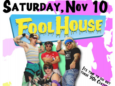 FOOL HOUSE - 90's Dance Party Band Event tickets - Rascals Live