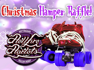 Christmas Hamper Raffle Event tickets - Nottingham Hellfire Harlots