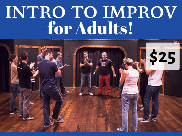 Intro to Improv for Adults