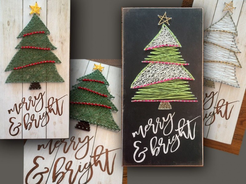 CHRISTMAS TREE STRING ART CLASS #5 Event tickets - Marla Rae