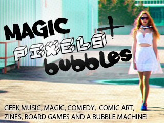 Magic, Pixels, Bubbles + CD Launch! Event tickets - Meri Amber