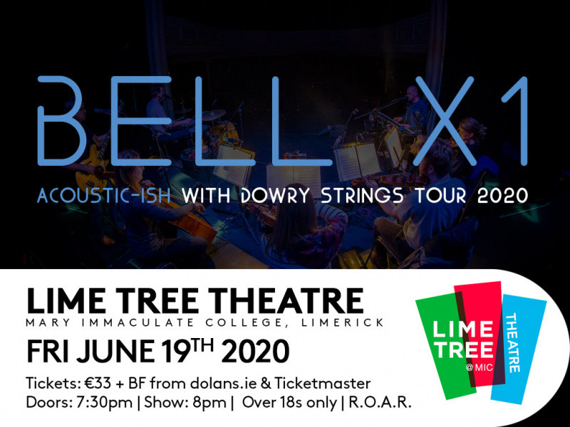 Bell X1 Acoustic with Dowry Strings tickets - Dolans pub