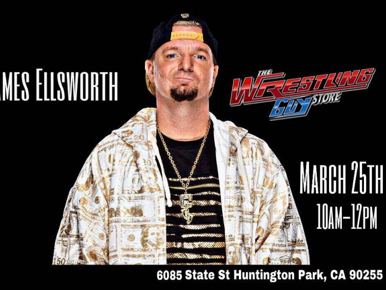 Meet James Ellsworth Event tickets - The Wrestling Guy