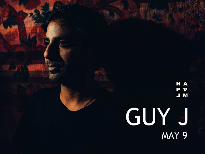 ИΛPΛLM pres GUY J (Israel) Event tickets - Napalm