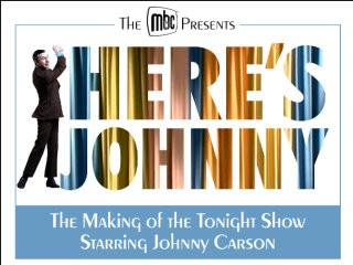 Heres Johnny! Event tickets - Museum of Broadcast Communications