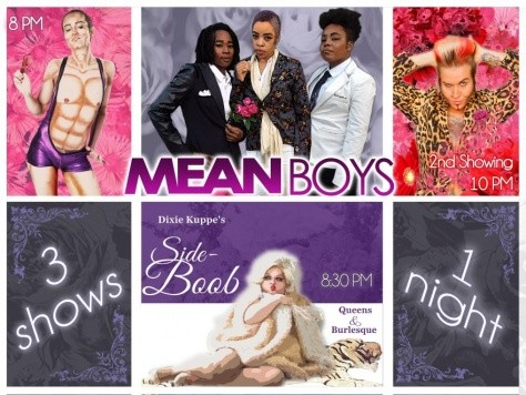 Cleavage III: Mean Boys Event tickets - Destroying Gender Roles