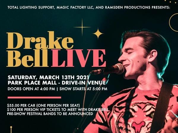 Drake Bell Live in Concert