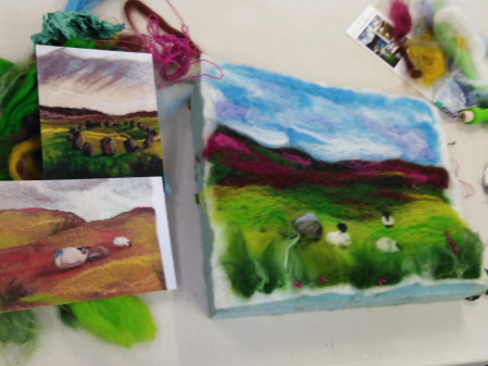Painting with Felt