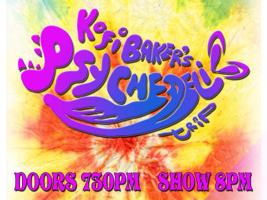 KOFI BAKER'S PSYCHEDELIC TRIP Event tickets - Rascals Live