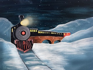 Ungrapeful Winery - Christmas Caboose Event tickets - Paint 'n Sip