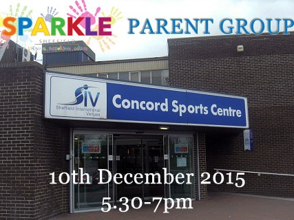 Parent Group at Concord Sports Centre Event tickets - Sparkle Sheffield