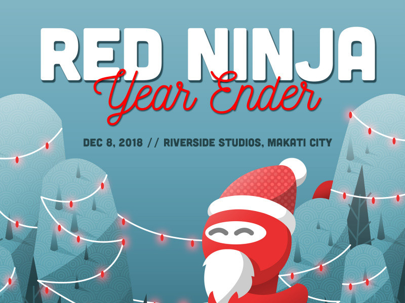 Red Ninja Year Ender 2018 Event tickets - Red Ninja Productions