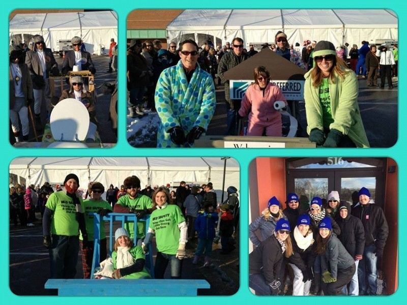 Chilly Fest Bed Races Event tickets - Blue Water Young Professionals
