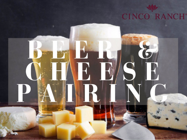 Cheers! Beer & Cheese Pairing Event