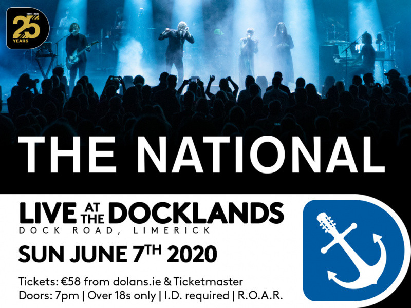 The National tickets - Dolans pub
