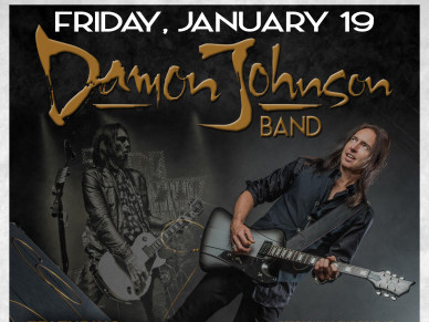 THE DAMON JOHNSON BAND Event tickets - Rascals Live