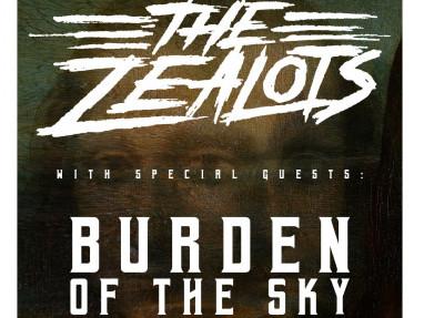 The Zealots w/ Burden Of The Sky Event tickets - Rascals Live