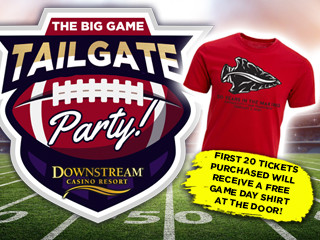 THE BIG GAME TAILGATE PARTY