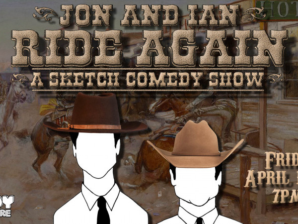Jon and Ian Ride Again tickets - Good Good Comedy Theatre
