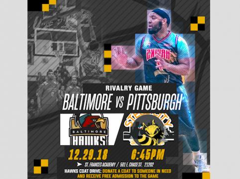 HAWKS vs STEEL CITY YELLOW JACKETS Event tickets - Baltimore Hawks