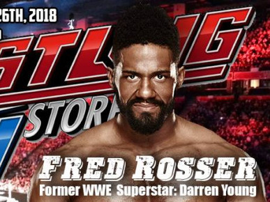 Meet Former WWE Superstar Darren Young Event tickets - The Wrestling Guy