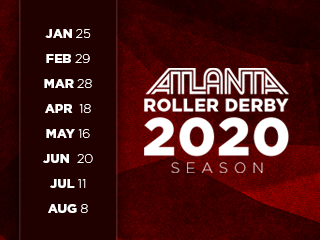 Atlanta Roller Derby 2020 Season Pass