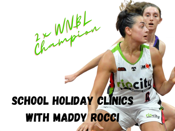 School Holiday Clinics with Maddy Rocci