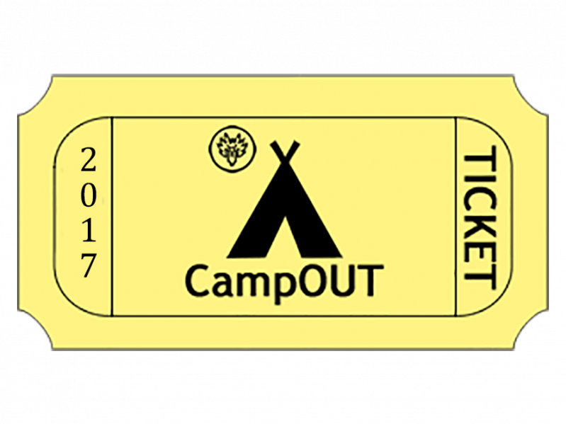 CampOUT 2017 Event tickets - La Fraternitié du Loup-Garou