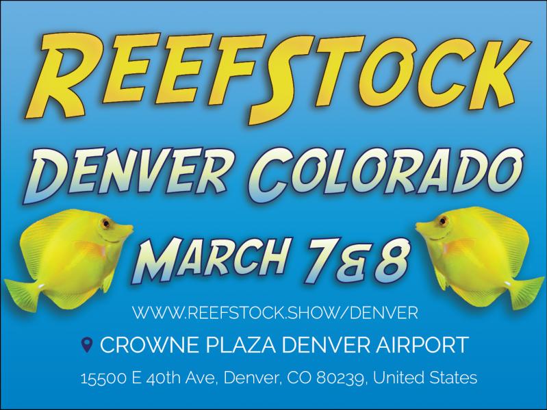 ReefStock Denver 2020