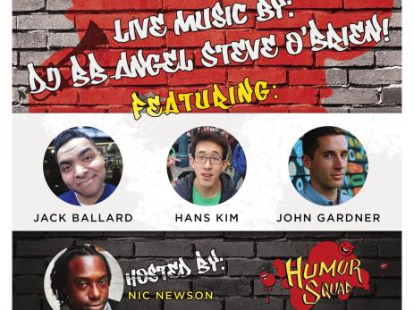 Humor Squad Comedy Show Event tickets - Humor Squad