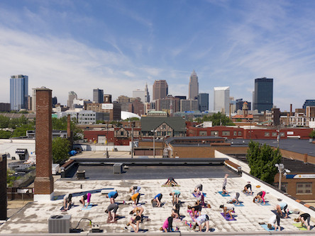 Rooftop Yoga at Lake Affect Studios tickets - LakeAffectStudios