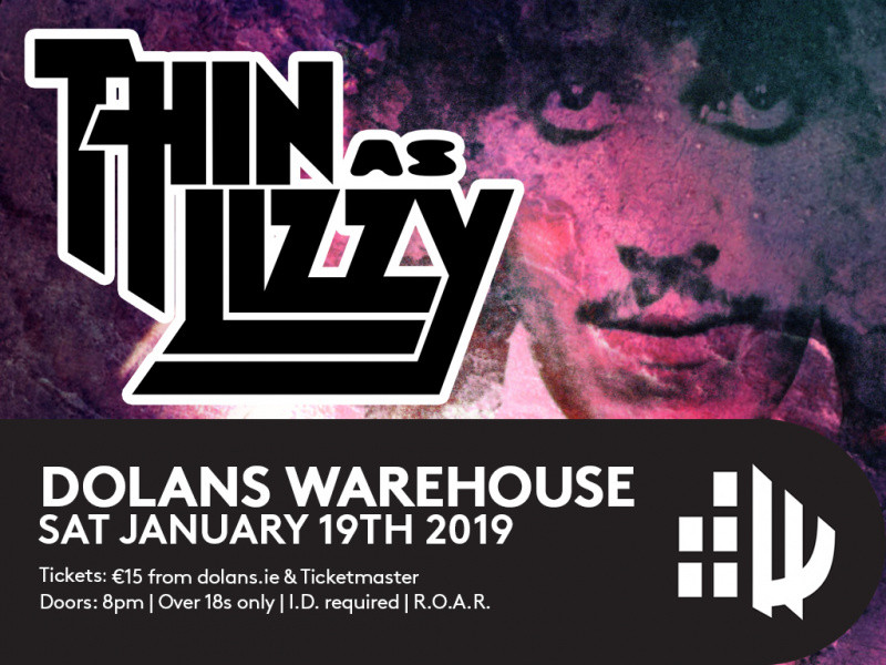 Thin Az Lizzy Event tickets - Dolans pub