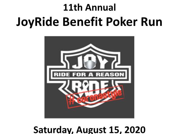 JoyRide Cancer Benefit
