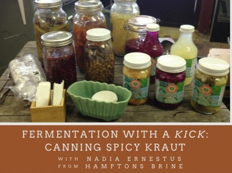 Fermentation with a Kick Event tickets - Amagansett Food Institute